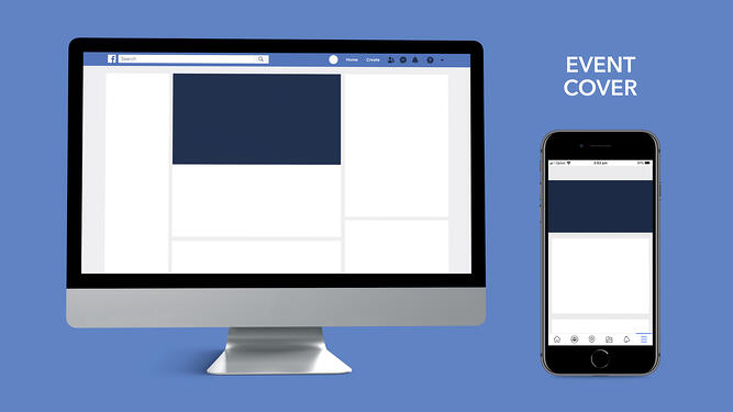 Facebook event cover image dimensions for desktop and mobile