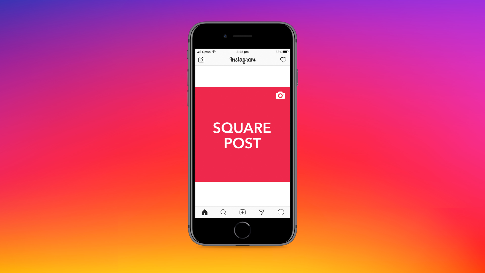 Instagram square image post dimensions cheat sheet