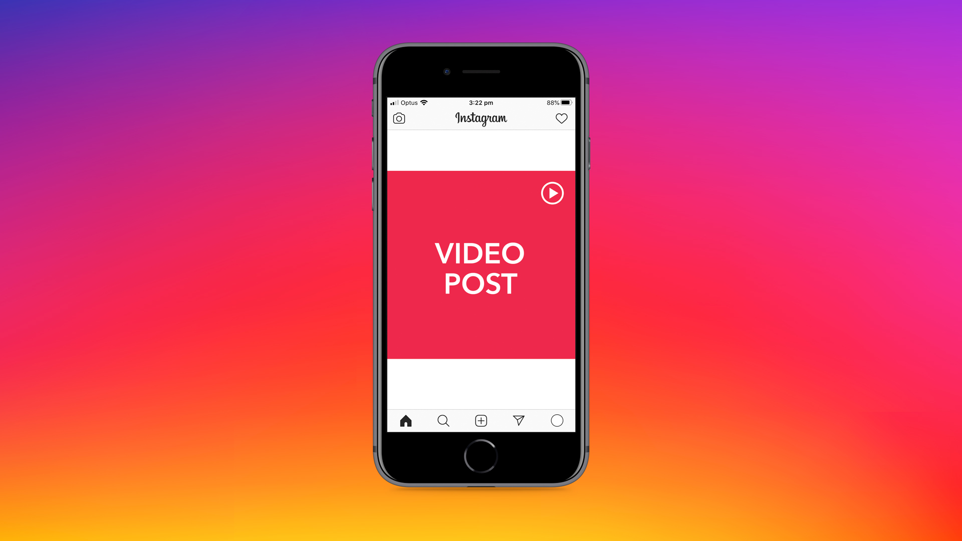 Instagram video post guidelines cheat sheet