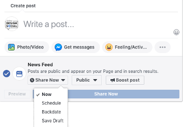 use facebook for your business