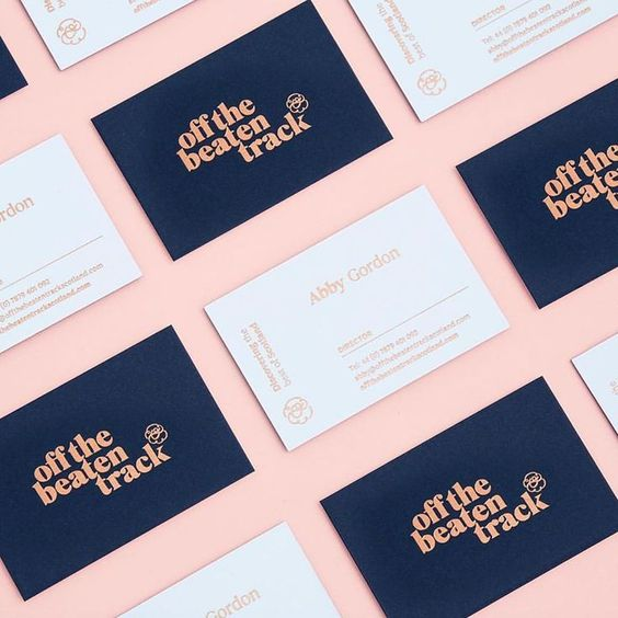 Business card design by sydney design social