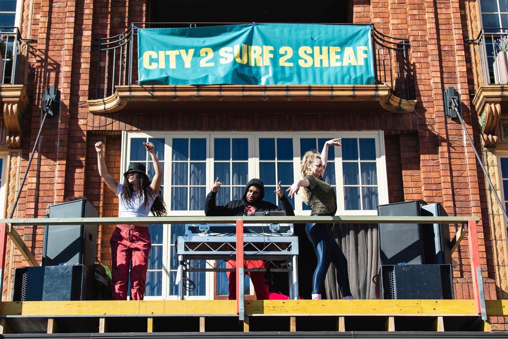 Distil golden sheaf hotel double bay Sydney banner design