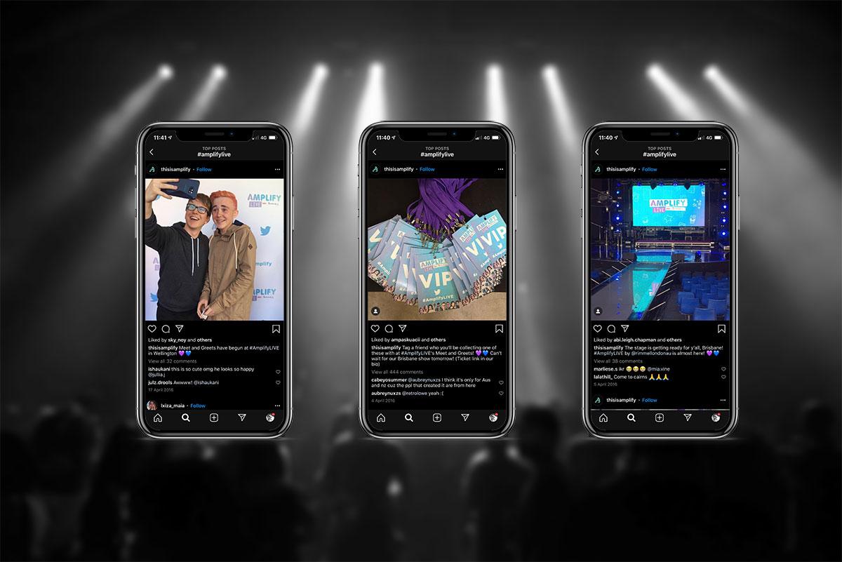 distil amplify live social media branding rimmel london