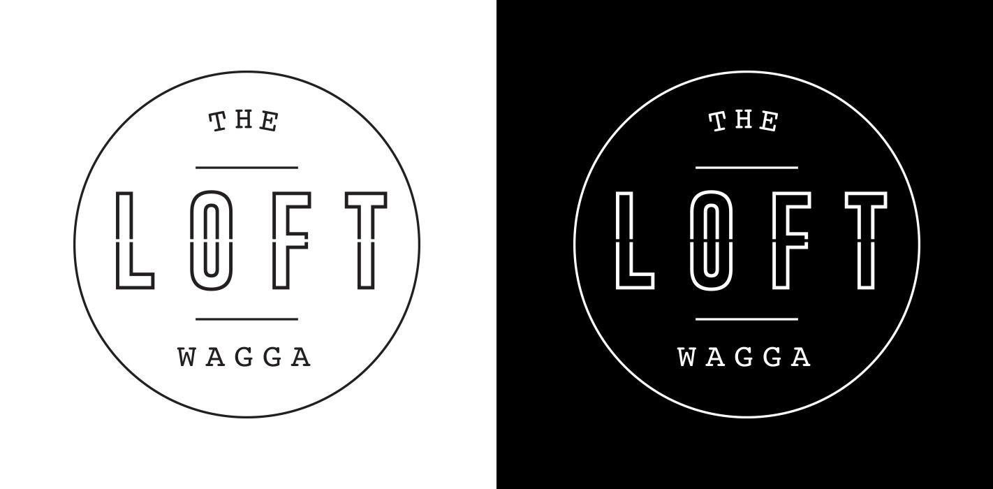 distil branding for the loft