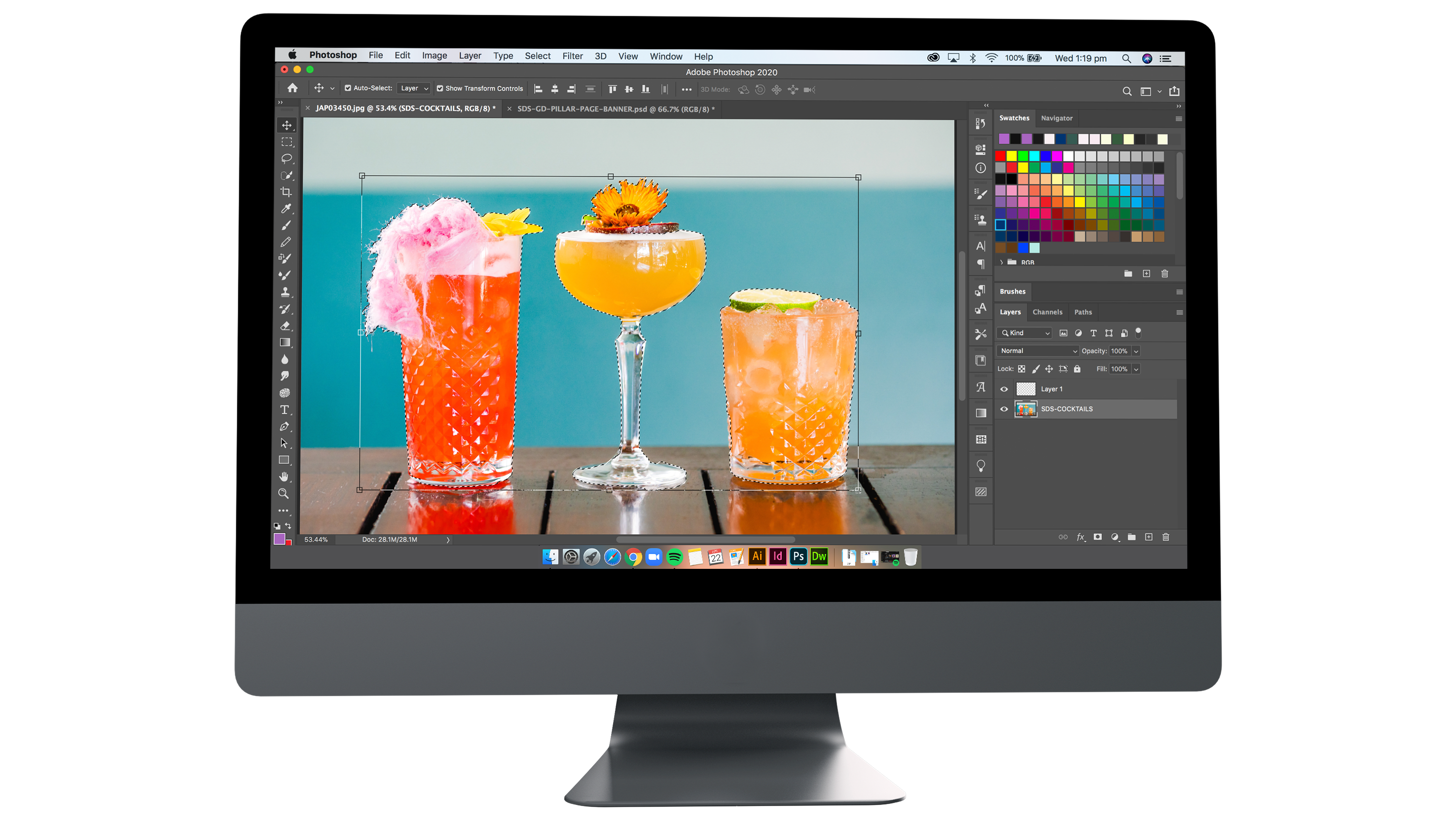 graphic design for hospitality