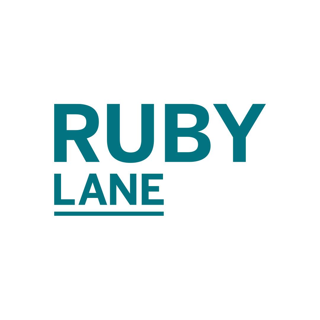 distil logo design for ruby lane